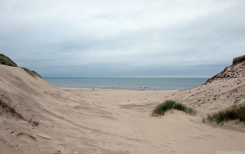 Dunes and North Sea