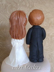October Wedding Cake