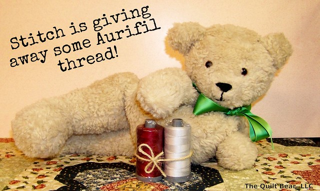 October Aurifil Thread Giveaway