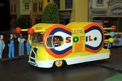 TOUR DE FRANCE Années 50-60 (1/43) Véhicule publicitaire (home-made) : Laines SOFIL
