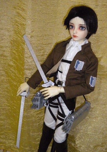 SnK Rivaille/Levi cosplay