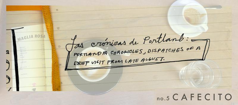 PDX | no.5 C A F E C I T O