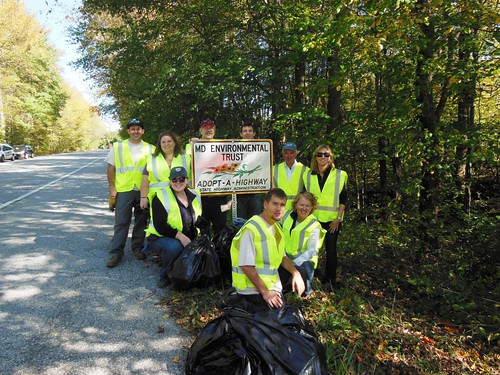 MET staff and volunteers help protect the environment and keeps scenic byways beautiful