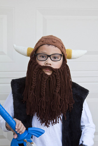 Behold the epic Viking Beard