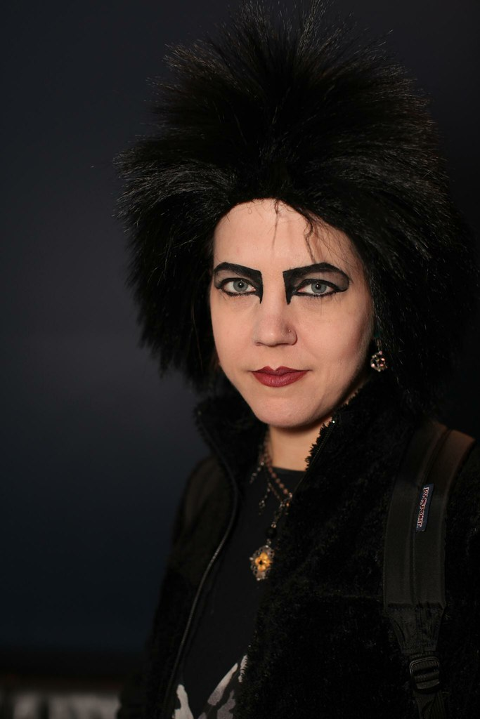 Kjrsten as Siouxsie Sioux