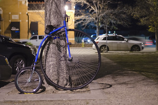 Modern Penny-Farthing Bike