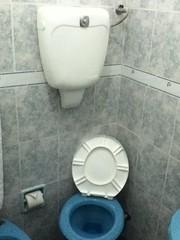 old toilets in Montevideo (Uruguay)