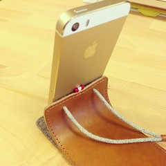 #iphone5s #gold #hardgraft #case @hardgraft #lifeatcloudie #gadgetflow