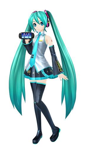 Hatsune Miku + PS Vita