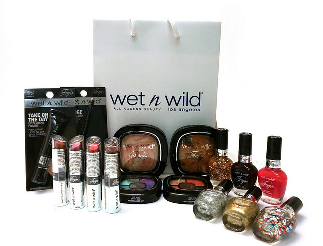Wet 'n Wild giveaway - Win Fergie's Best sellers!