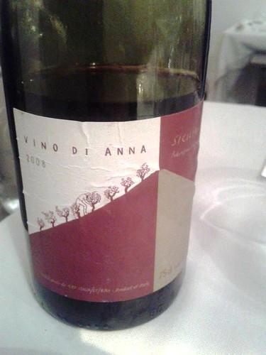 Vino di Anna, Sicilia