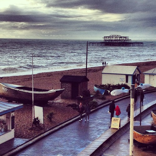 Instagram Brighton on a rainy day by PhotoPuddle