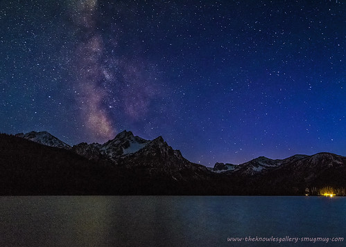 Stanley Lake Milky Way