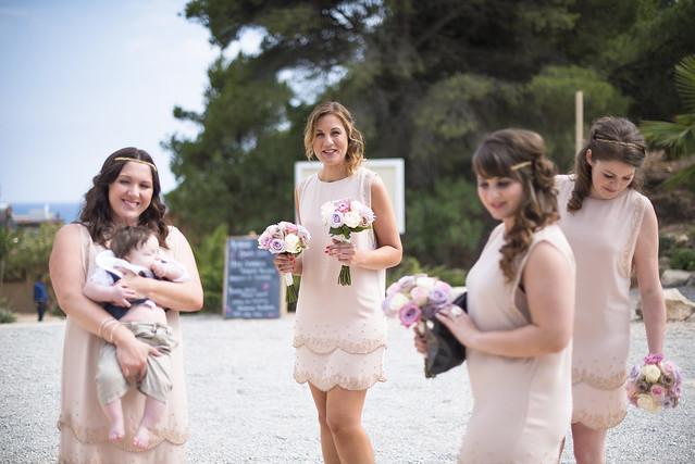 David & Tracey, real Ibiza wedding