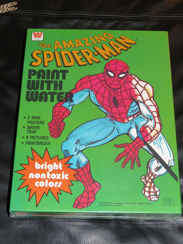 coloring_spideywithwater