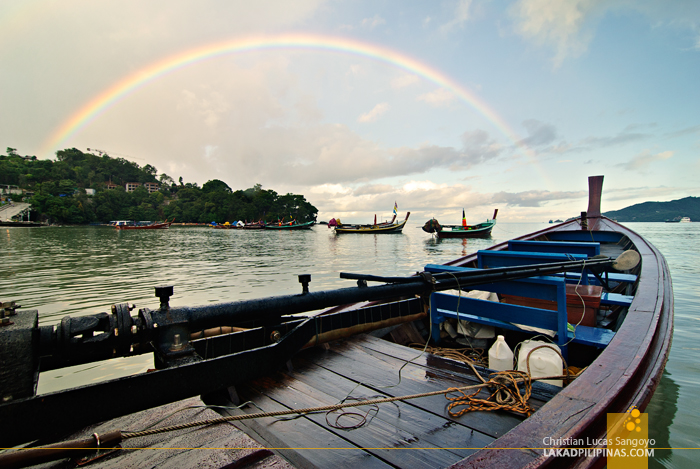 Rainbows Over Phuket's Patong Beach