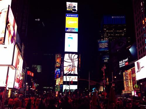 Times Square Maraton de Nueva York 2013