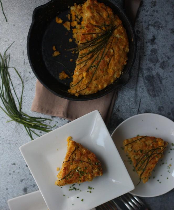 Skillet Cornbread with Jalapenos4