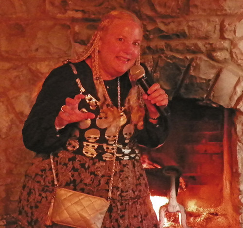 Professional Storyteller Debbie Dunn performed spooky tales at Hermitage in October 2013