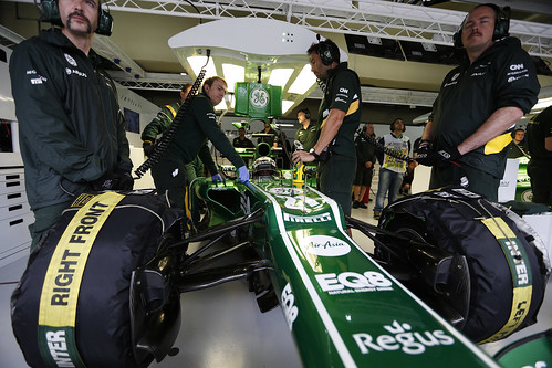 Caterham F1 Team, Brazilian GP, Friday practice