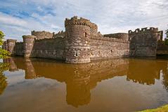 Beaumaris castle - exterior