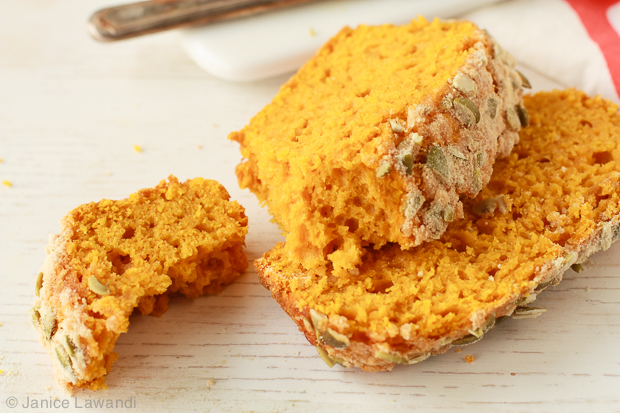 Pumpkin loaf slices | kitchen heals soul