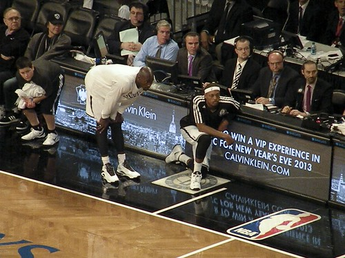 Kevin Garnett and Paul Pierce, Brooklyn Nets