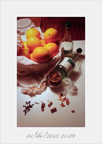 Fette di arancia speziate
