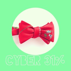 31% still going strong in the shop!  All bow ties, sets, and gift cards are 31% off through tonight.  Happy holidays!