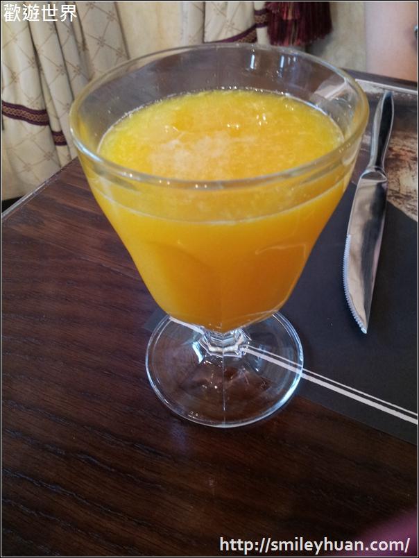 新鮮柳橙汁