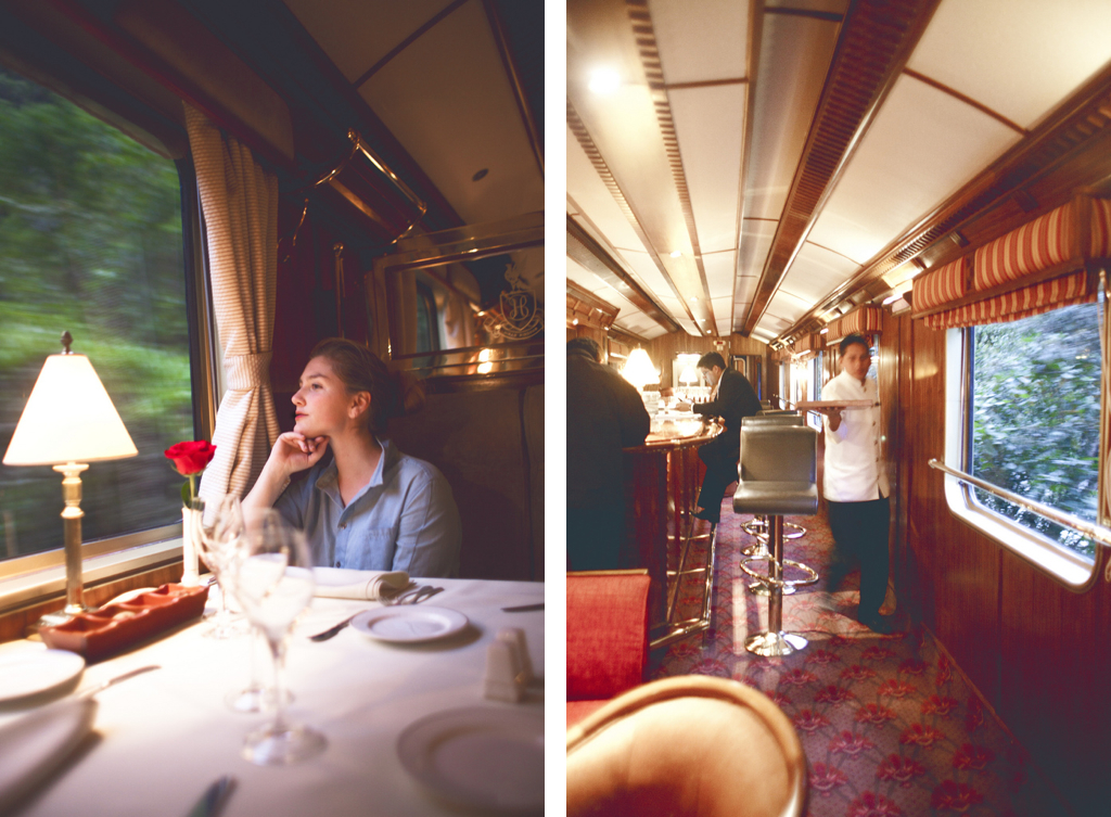 Hiram Bingham Orient Express from Machu Picchu to Cusco