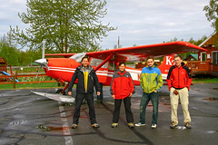 K2 Aviation na lotnisku w Talkeetna