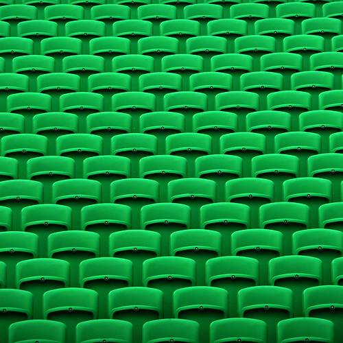 green chairs by pho-Tony