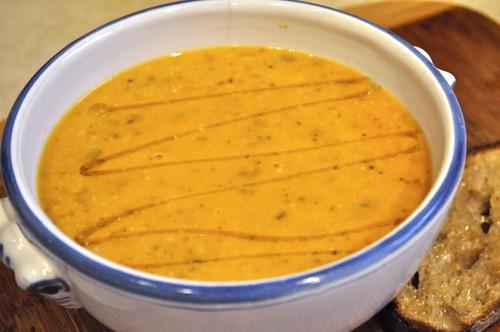 sweet potato gratin soup
