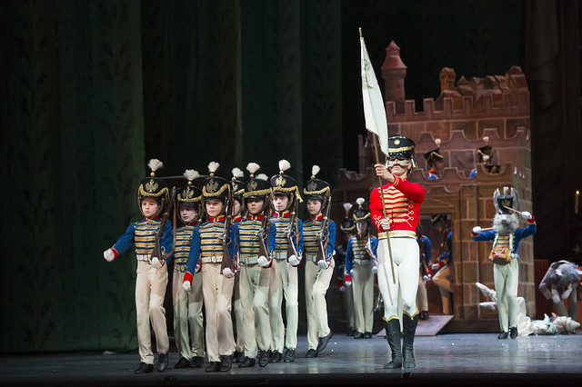 Soldiers in The Nutcracker © ROH / Bill Cooper 2012