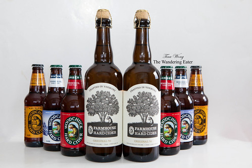 Woodchuck Hard Ciders: Amber, Winter, Reserve and Farmhouse Select
