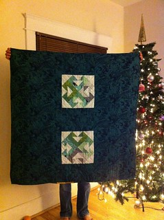 August's Empower dGS Quilt FINISHED!!