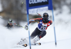 Trevor Philp speeds his way to a career best 27th place finish in Val d'Isere, FRA