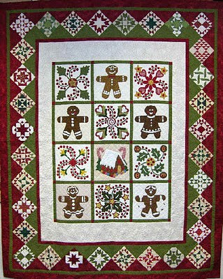 gingerbread_quilt design by Sue Garman