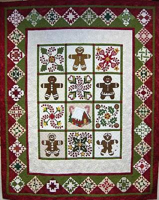 gingerbread_quilt design by Sue Garman