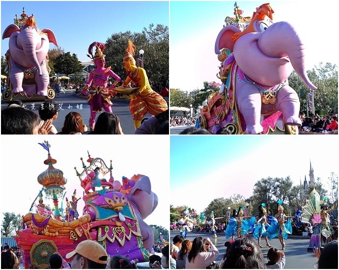 7 迪士尼聖誕村大遊行幸福在這裡夢之光大遊行