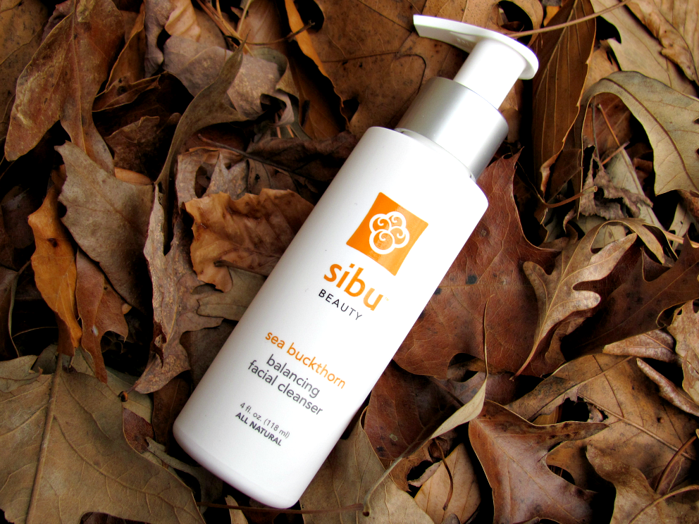 Sibu Beauty, Sea Buckthorn, Balancing Facial Cleanser