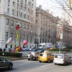Park Avenue flower sculptures