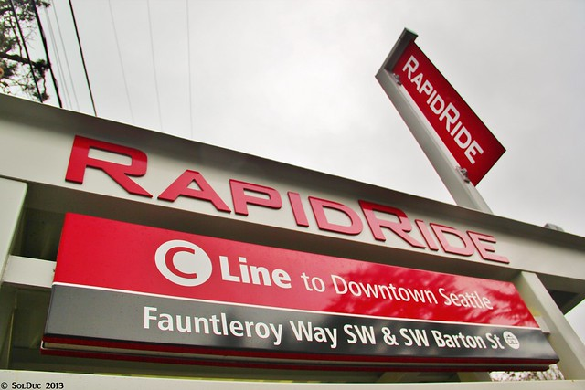 RapidRide branding
