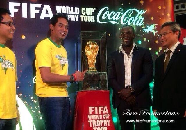 Khairy Jamaluddin FIFA World Cup