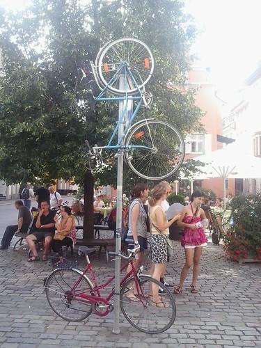 Sicherer Fahrradständer in Konstanz
