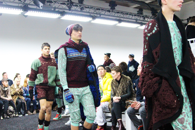London Collections: Men Sibling Knitwear AW14
