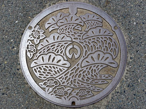 Inazawa Aichi, manhole cover 6 (愛知県稲沢市のマンホール6)
