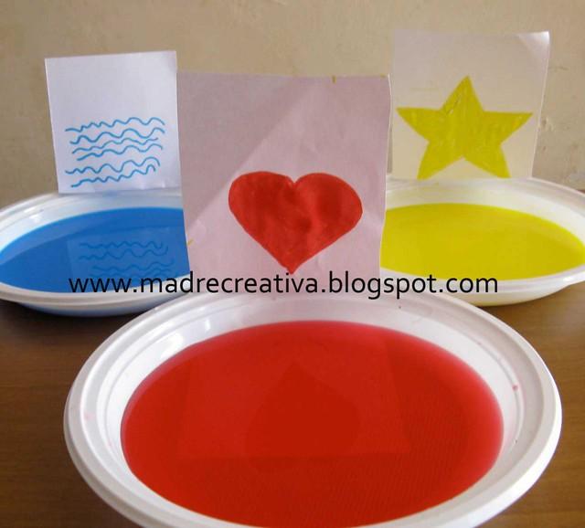 creativita' bambini, progetti coi colori