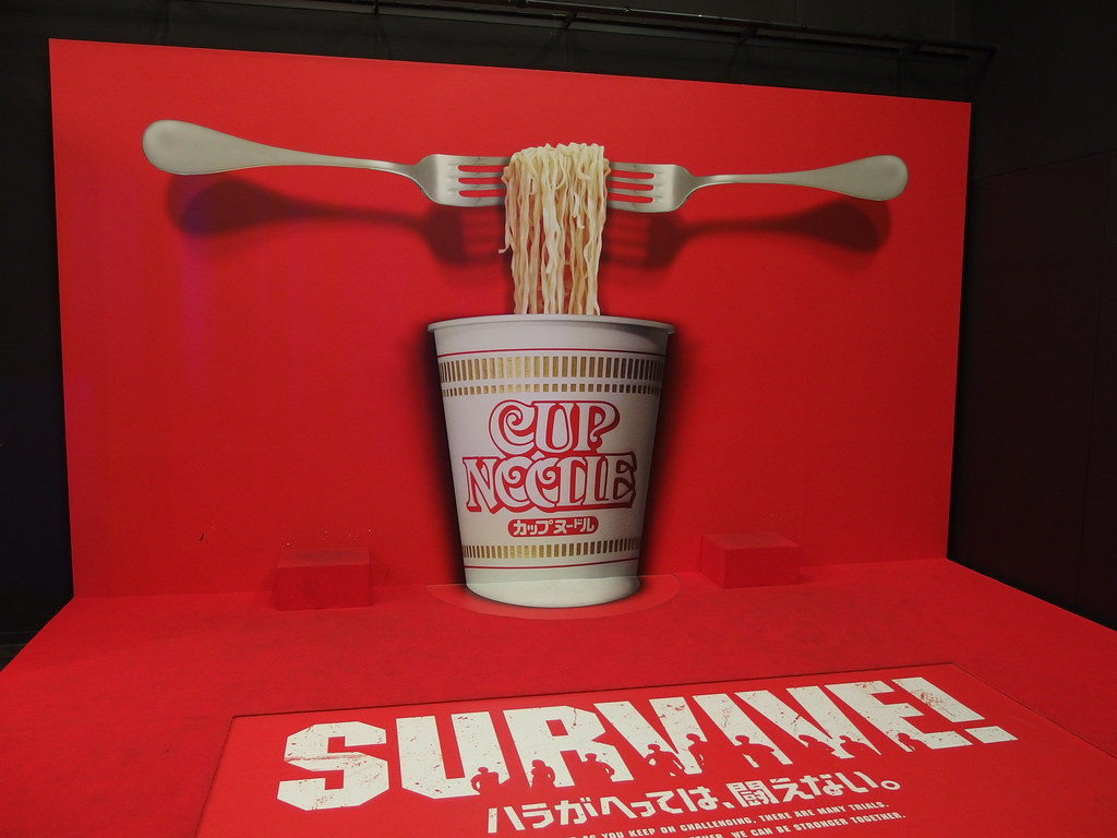 """Survive"" Cup Noodle @ Akasaka"